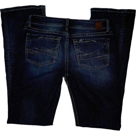 BKE Denim Womens Bootcut Jeans Size 28 Long